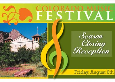 Colorado Music Festival Postcards