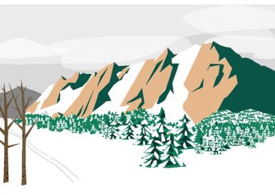 Flatirons Cards – Four Seasons