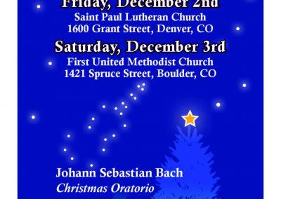 Promusica Colorado Chamber Orchestra Postcard