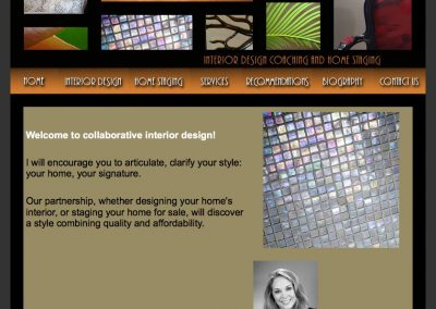 Sheila Smith Design Website
